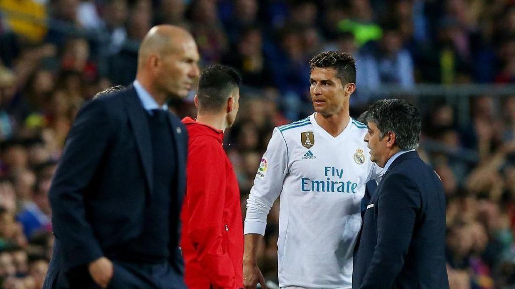 Zidane Jamin Ronaldo Cs 150 Persen Siap di Final