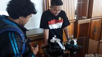 Mahasiswa Unikom Gondol 7 Medali Kompetisi Robot di Amerika Serikat