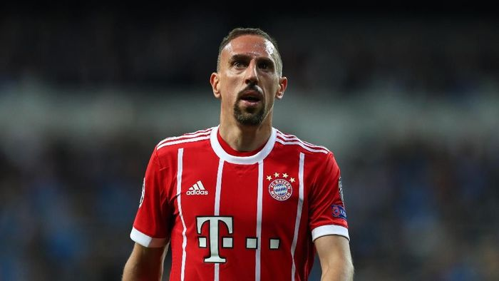 Franck Ribery di Bayern Munich sampai 2019. (Foto: Catherine Ivill/Getty Images)