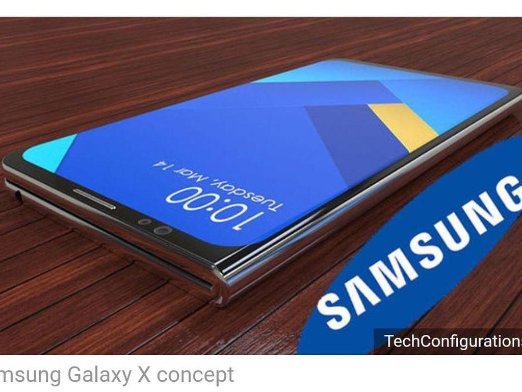 Samsung Mulai Ungkap Ponsel Lipatnya Jelang Diumumkan