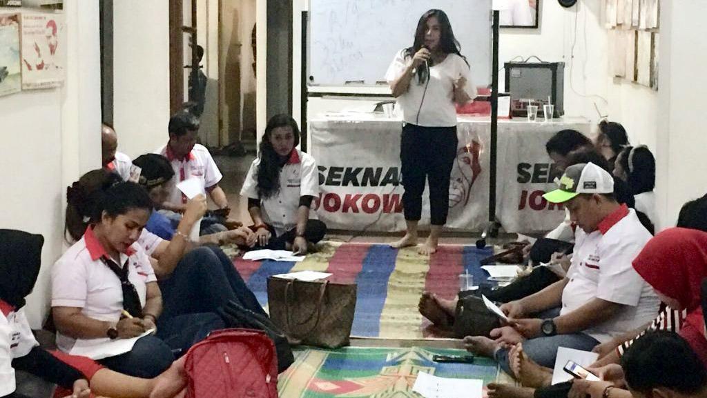 Seknas Jokowi Sosialisasi Perangi Hoax