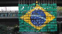 Gegara Corona, Ekonomi Brasil Anjlok 4,1%