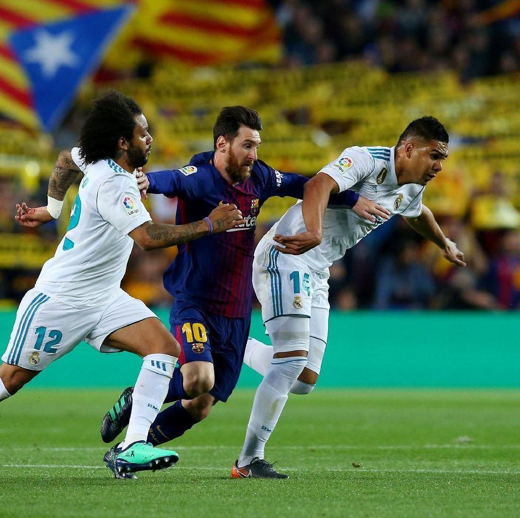 Messi Tak Mau Tukar Dobel Gelar Domestik dengan Trofi Liga Champions