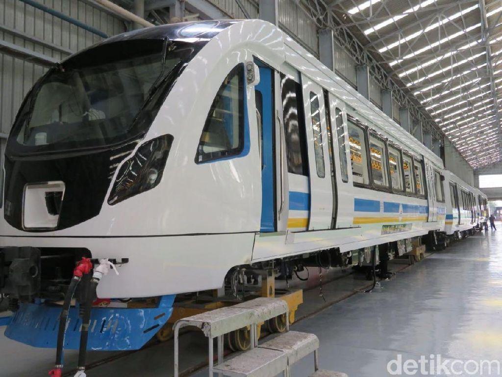 Kereta LRT Jabodebek Mulai Diproduksi Juli 2018