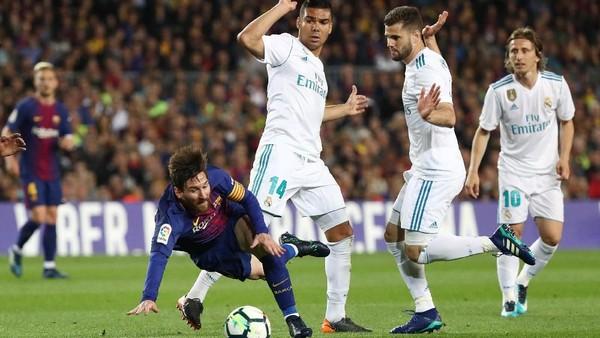 Barcelona Berimbang dengan Madrid 2-2