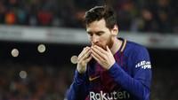 Lionel Messi Pecahkan Rekor Gol Legenda Madrid