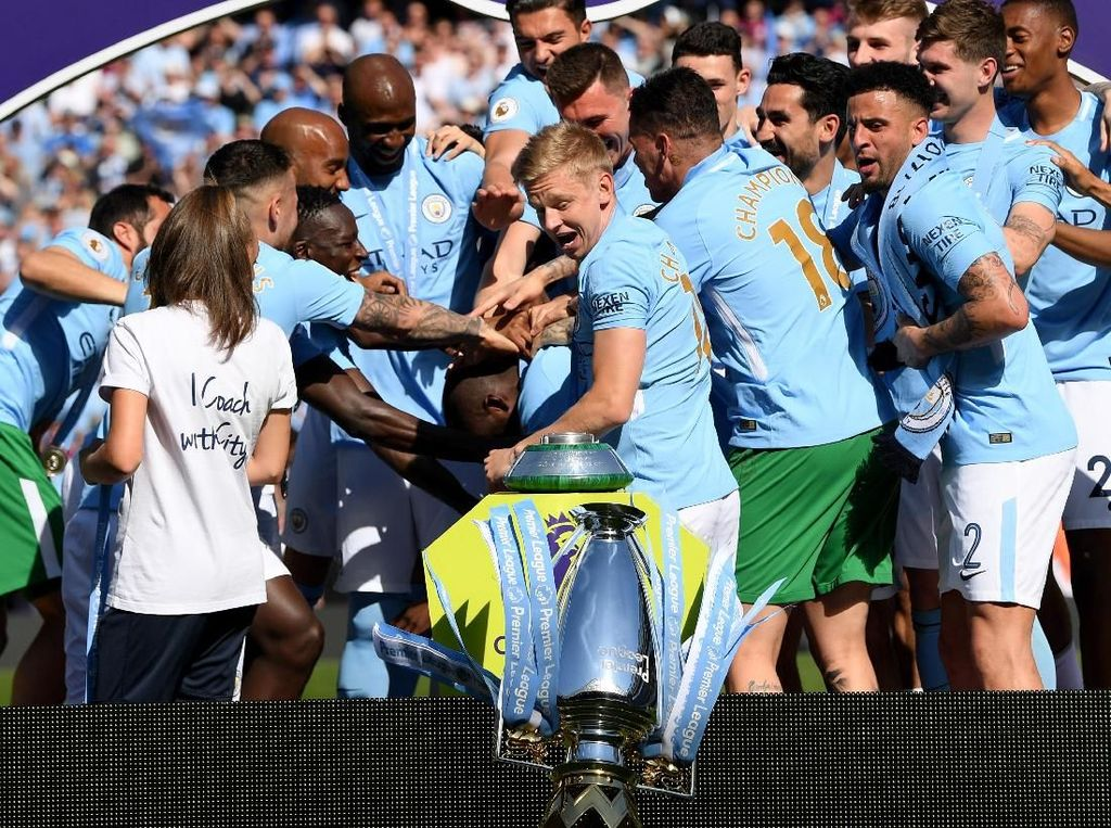 Manchester City, Sergio Ramos Tahu Tempat Menyervis Trofi Lho!