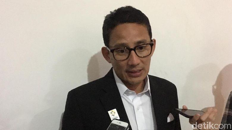 Beredar Surat Minta Doa untuk Jokowi, Sandi: Sepakat Sampai 2019