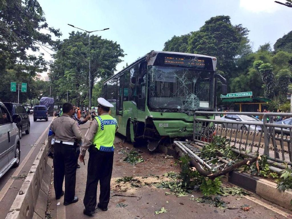 Dirut TransJ: Kecelakaan Tak Semua Salah Sopir
