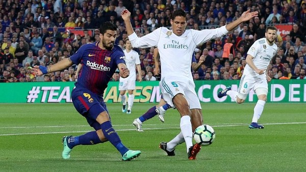 Sergi Roberto Dikartumerah, Barca vs Madrid 1-1