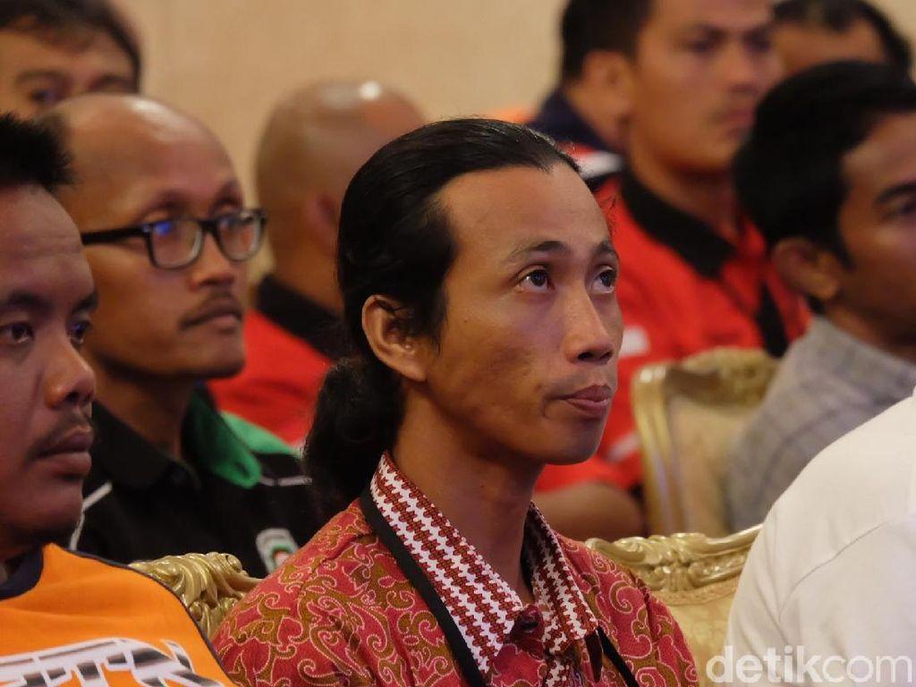 Ini Agus yang Jalan Kaki dari Sidoarjo untuk Lapor Pungli ke Jokowi