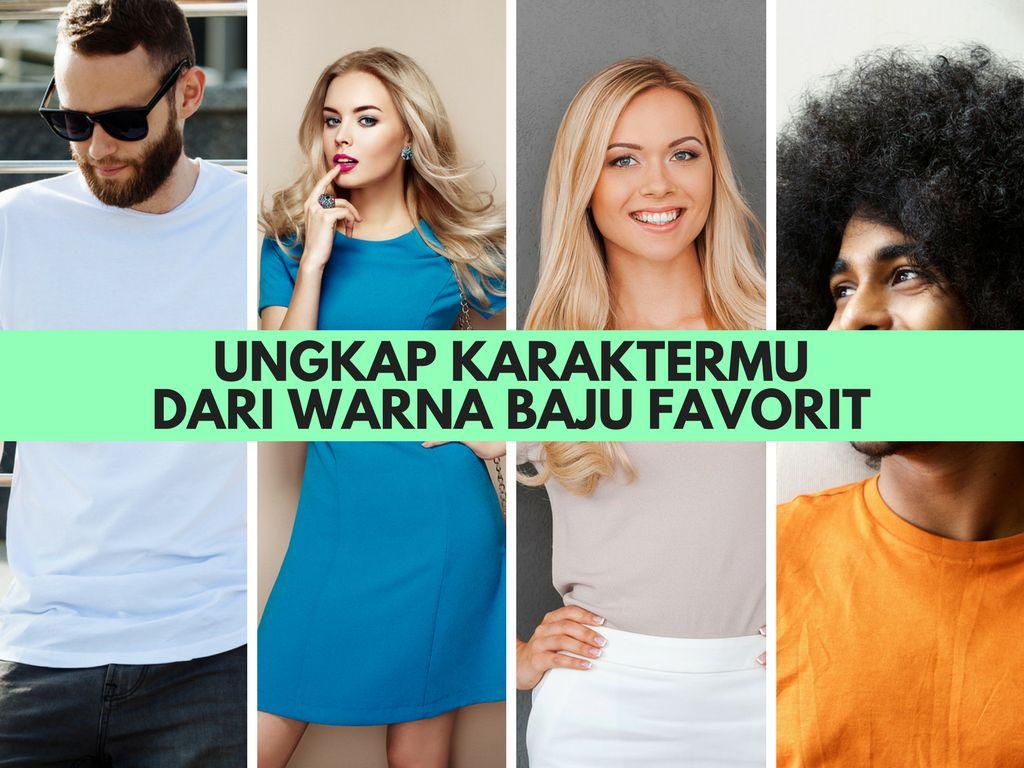 Warna Baju Favoritmu Bisa Mencerminkan Kepribadianmu (2)