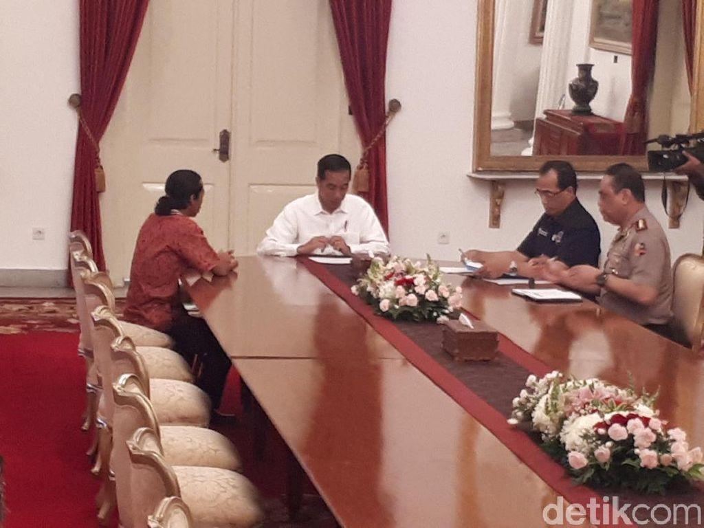 Jalan Kaki dari Sidoarjo, Agus Lapor ke Jokowi soal Pungli Truk