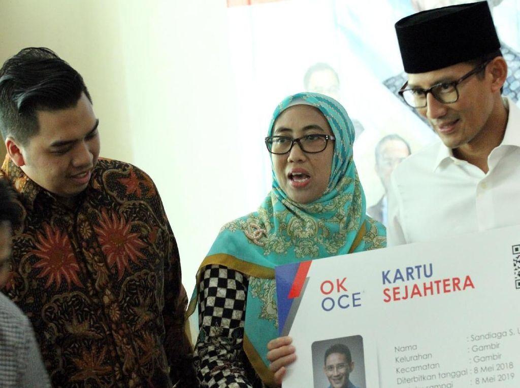 Jelang Ramadan, Sandi Uno Kenalkan Ok Oce Quran Center