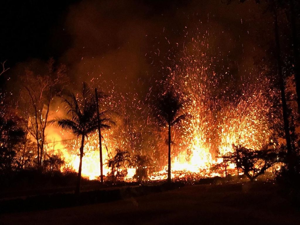 Lava Erupsi Gunung Kilauea Meluas, Warga Diimbau Mengungsi