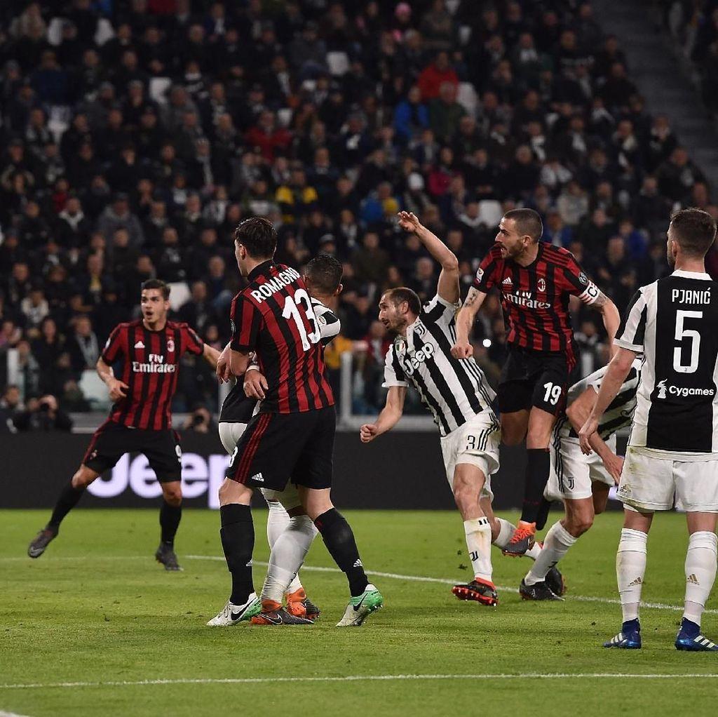 Saatnya AC Milan vs Juventus di Pekan ke-12 Liga Italia