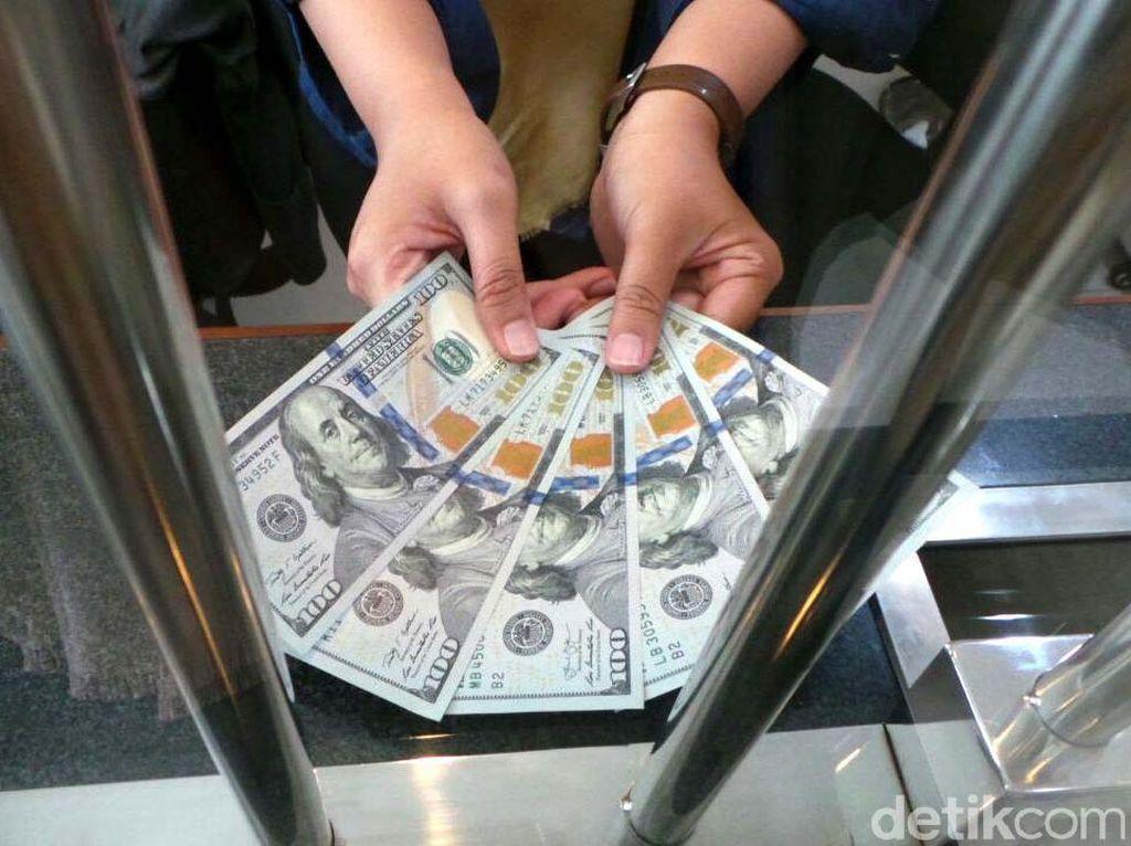 Dolar AS Tembus Rp 14.200, Money Changer Makin Ramai