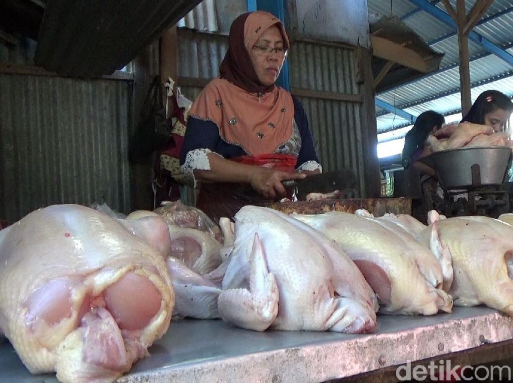 Jelang Ramadan, Harga Daging Ayam dan Telur di Banyuwangi Naik