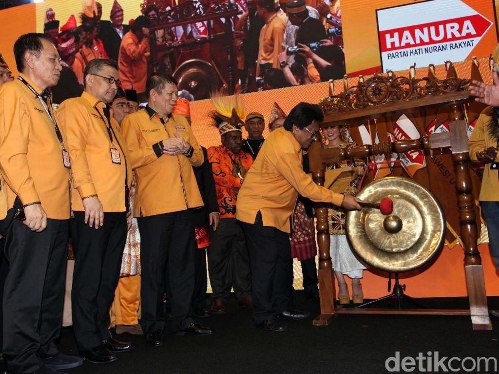 Rakernas Hanura Batal Dibuka Jokowi