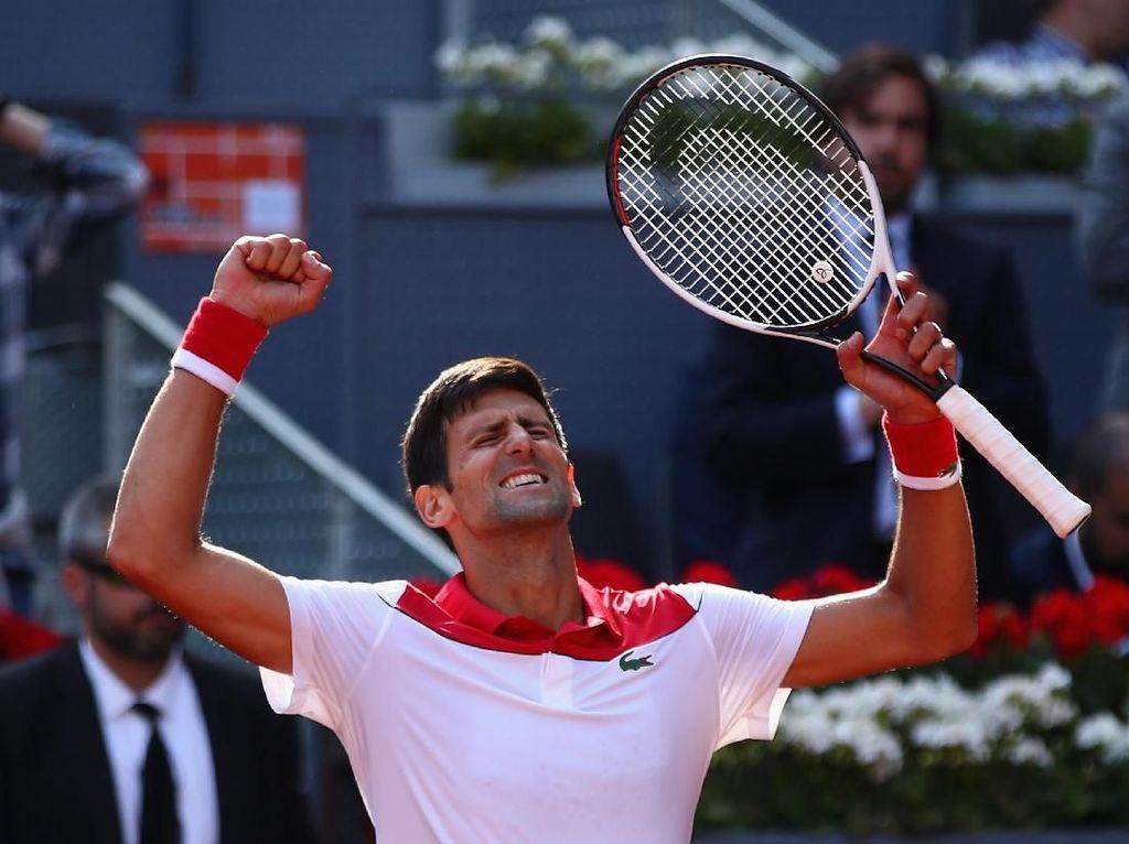 Djokovic Sisihkan Nishikori di Babak Pertama