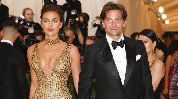 Bradley Cooper dan Irina Shayk akhirnya terlihat bersama di Met Gala 2018.