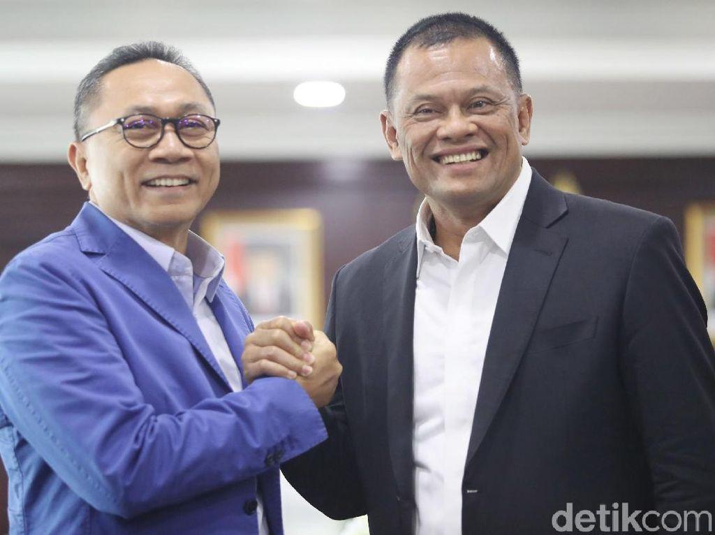 Foto: Gatot Silaturahmi Temui Ketua MPR