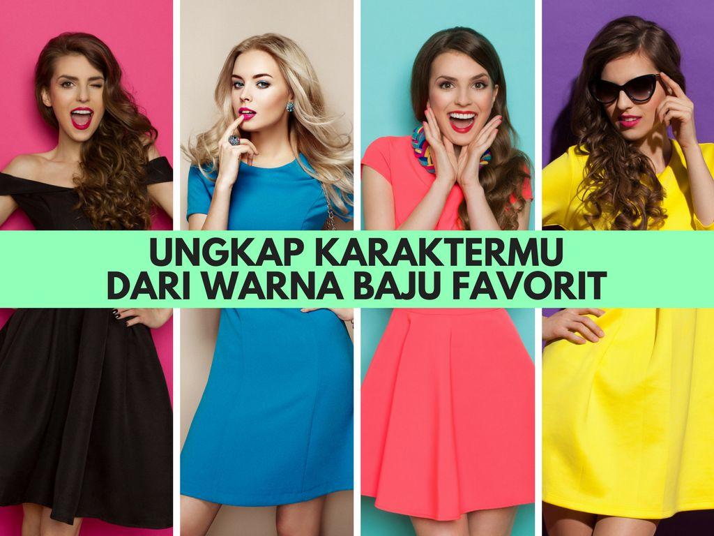 Warna Baju Favoritmu Bisa Mencerminkan Kepribadianmu (1)