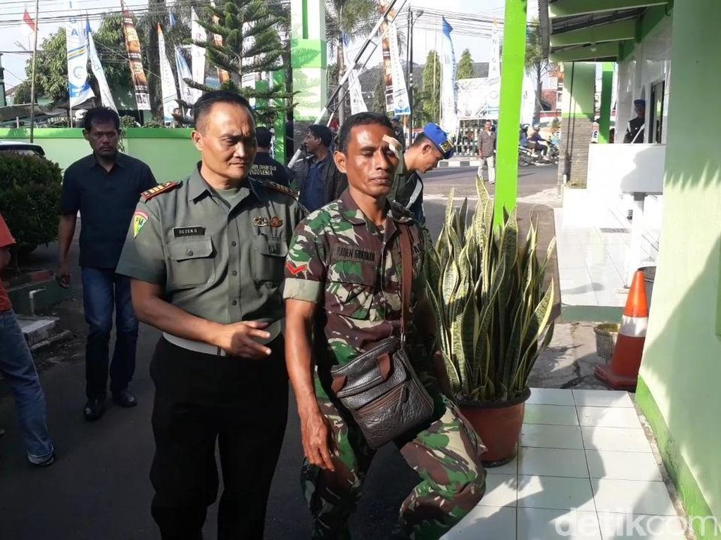 Polisi Tahan 4 Anggota Ormas Pengeroyok TNI Garut