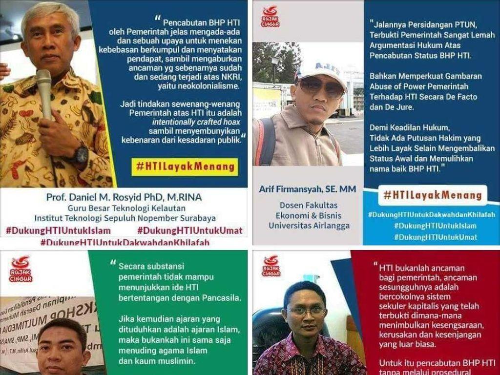 Meme Dosen ITS dan Unair soal HTI yang Bikin Rektor Turun Tangan