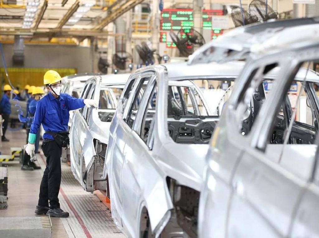 Pabrik Wuling di Cikarang yang Bisa Lahirkan 15 Mobil per Jam