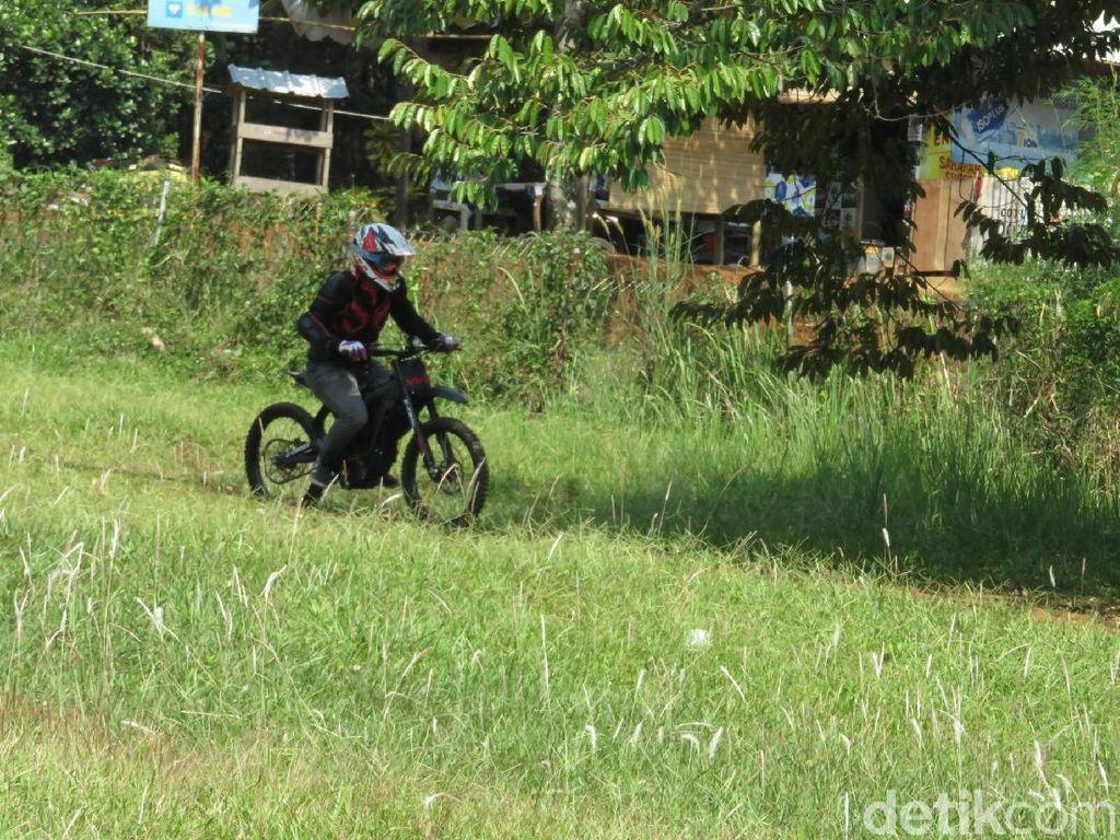 Motor Trail Listrik Buatan Indonesia Meluncur Tahun Depan