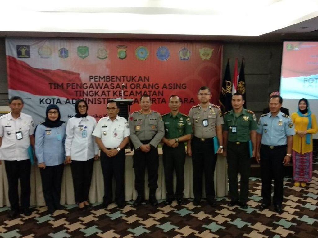 Imigrasi Jakut Bentuk Tim Pengawasan WNA di Tingkat Kecamatan