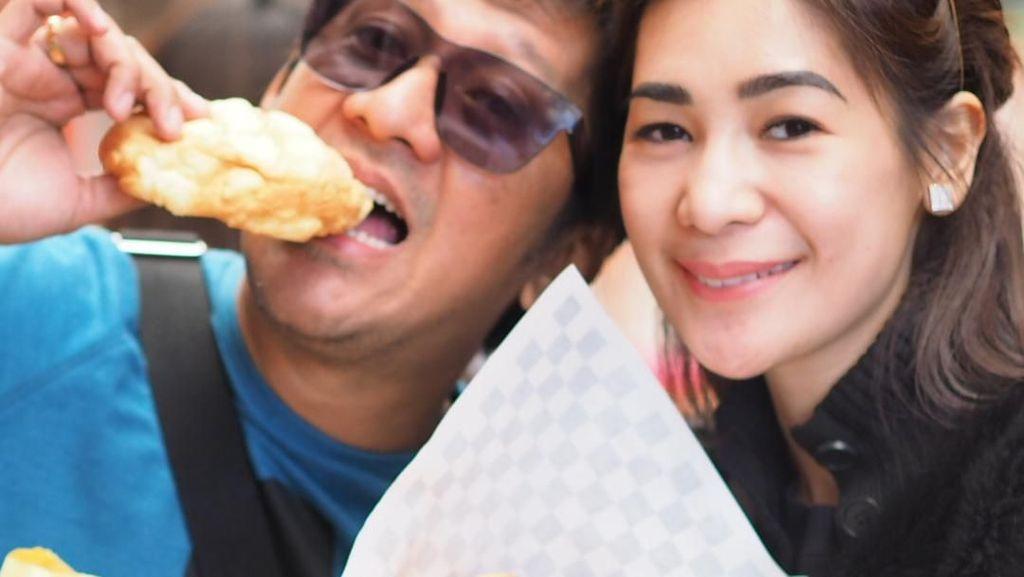 Bak Sosialita, Ini 10 Gaya Kulineran Istri Andre Taulany yang Cantik