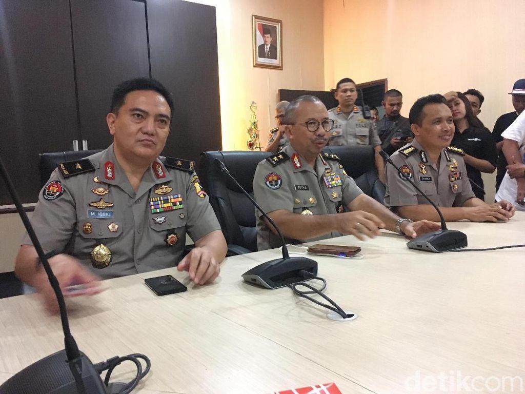 Polisi yang Gugur di Mako Brimob Dibacok di Leher