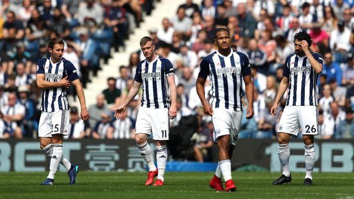 19. West Brom sudah tampil 12 musim di Premier League. Ada 456 pertandingan yang dijalani dengan meraup 464 poin. (Foto: Matthew Lewis/Getty Images)