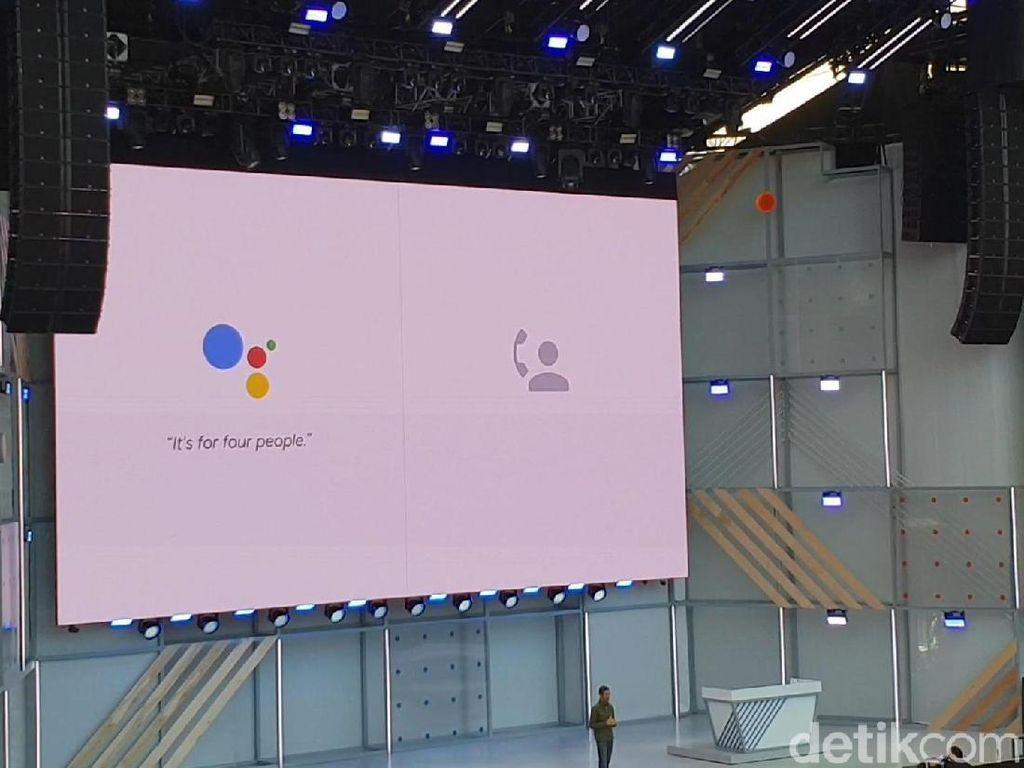 Hebat! Google Assistant Bisa Jadi Manusia Palsu