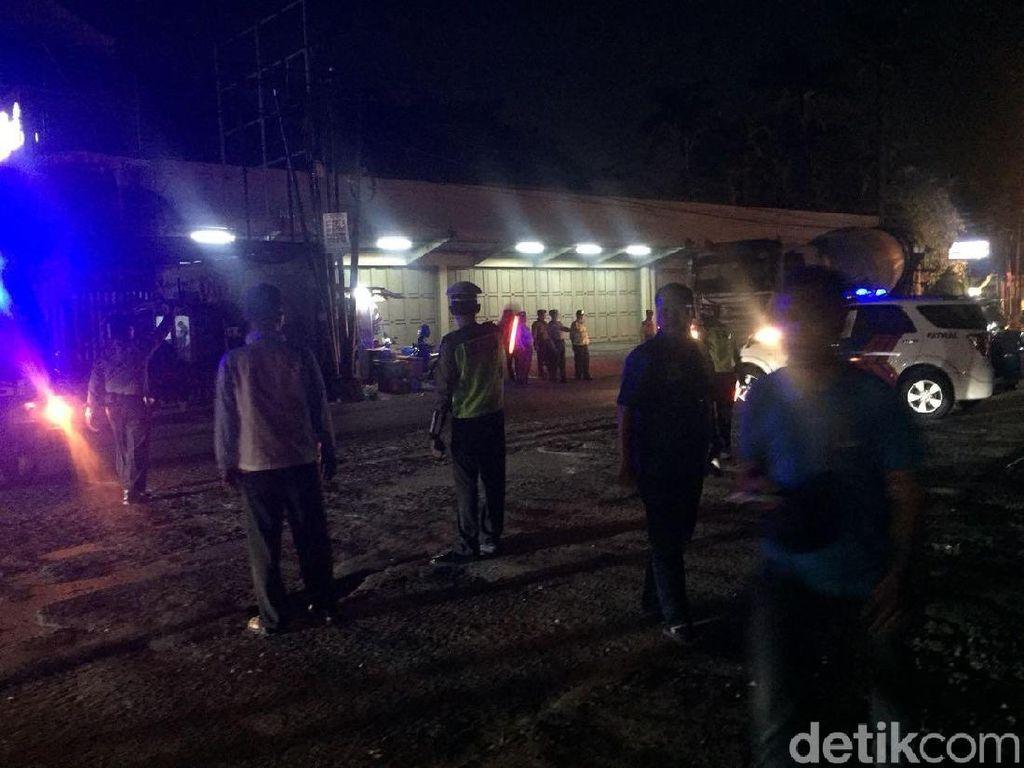 Penampakan Jalan di Depan Mako Brimob yang Ditutup Polisi