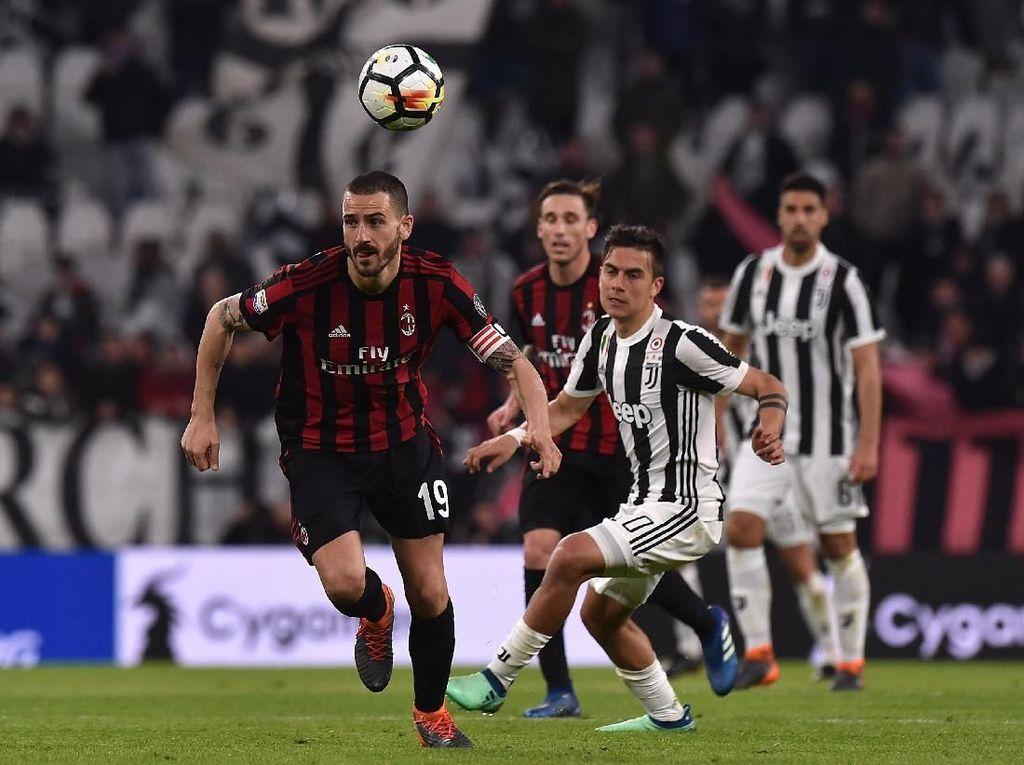 Buffon: Juve Tak Pernah Jadi Favorit Lawan Milan
