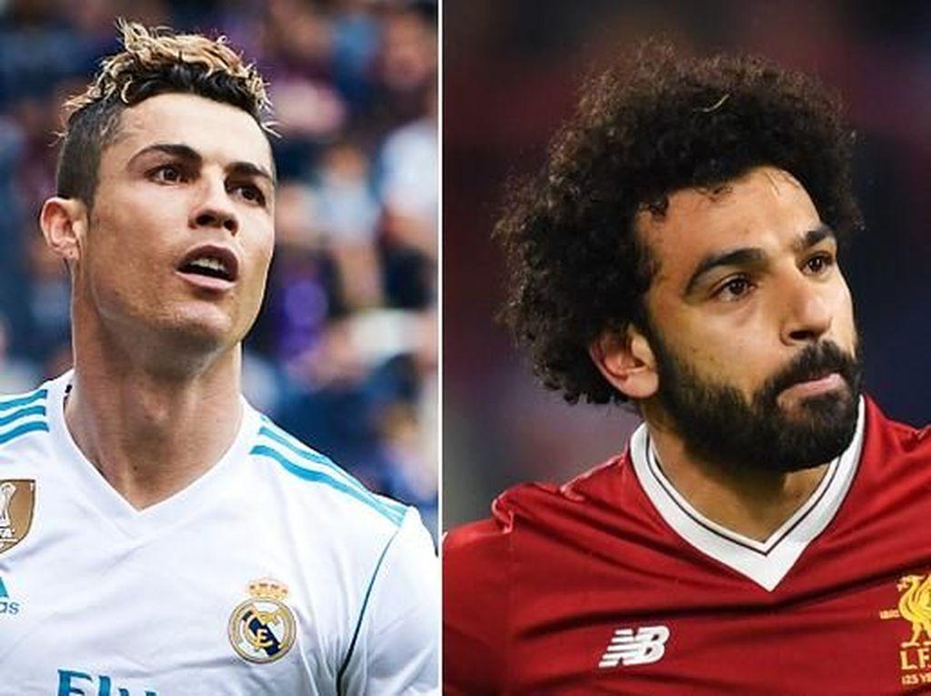 Kata Zidane soal Ronaldo vs Salah di Final Liga Champions