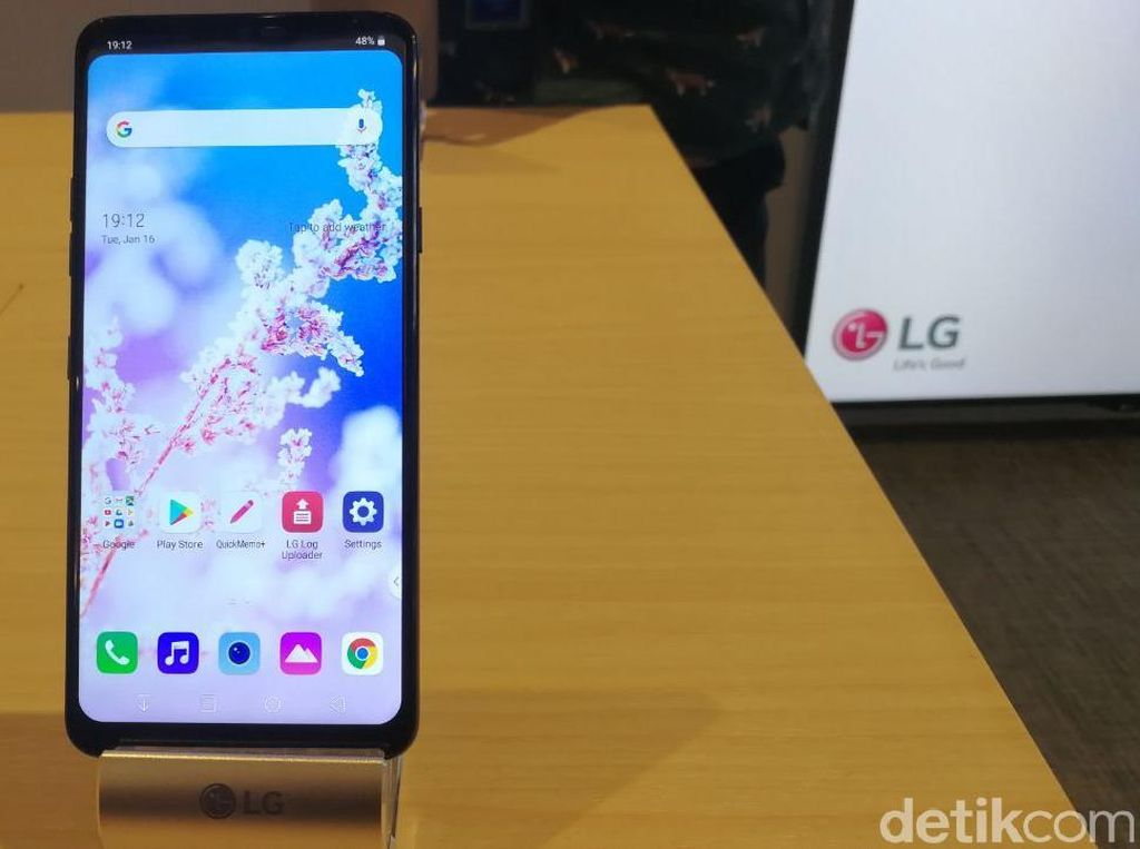 LG G7+ ThinQ Mendarat di Indonesia