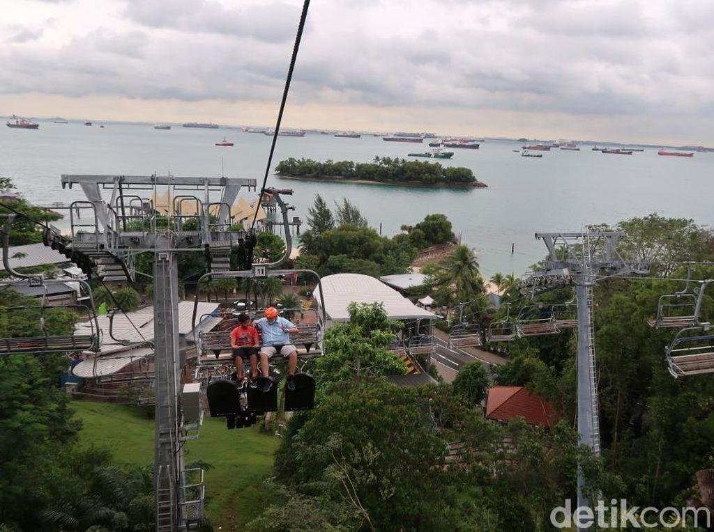 Pacu Adrenalinmu di Pulau Sentosa Singapura!