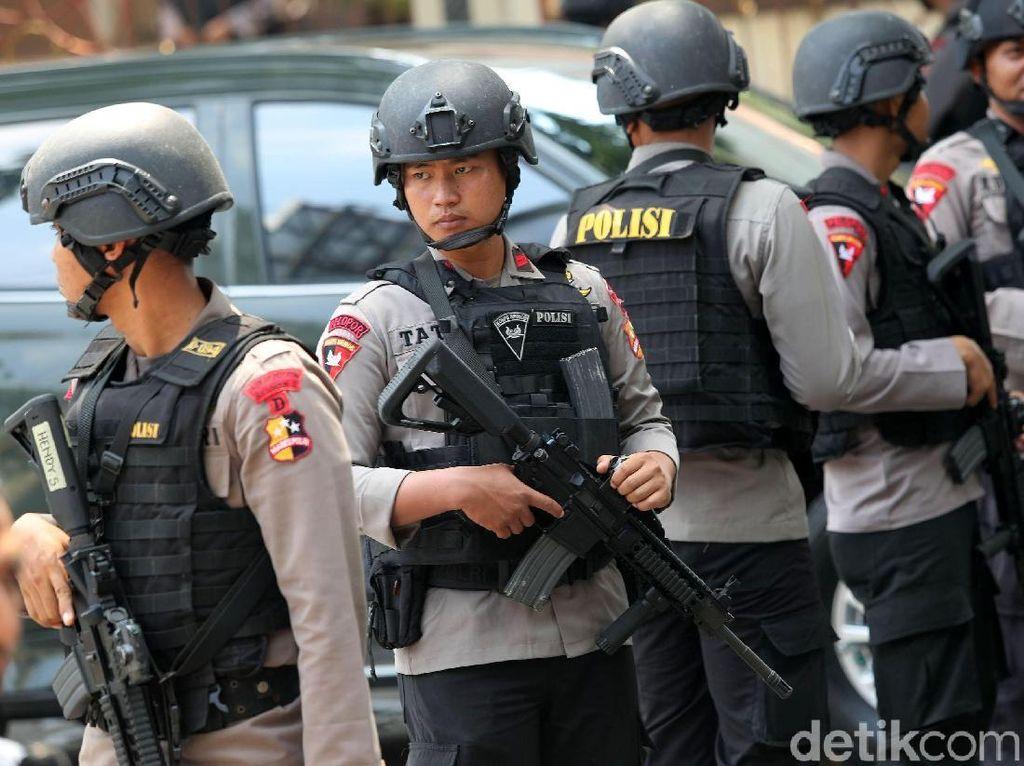 Polri: 5 Polisi yang Gugur di Mako Brimob Anggota Terbaik