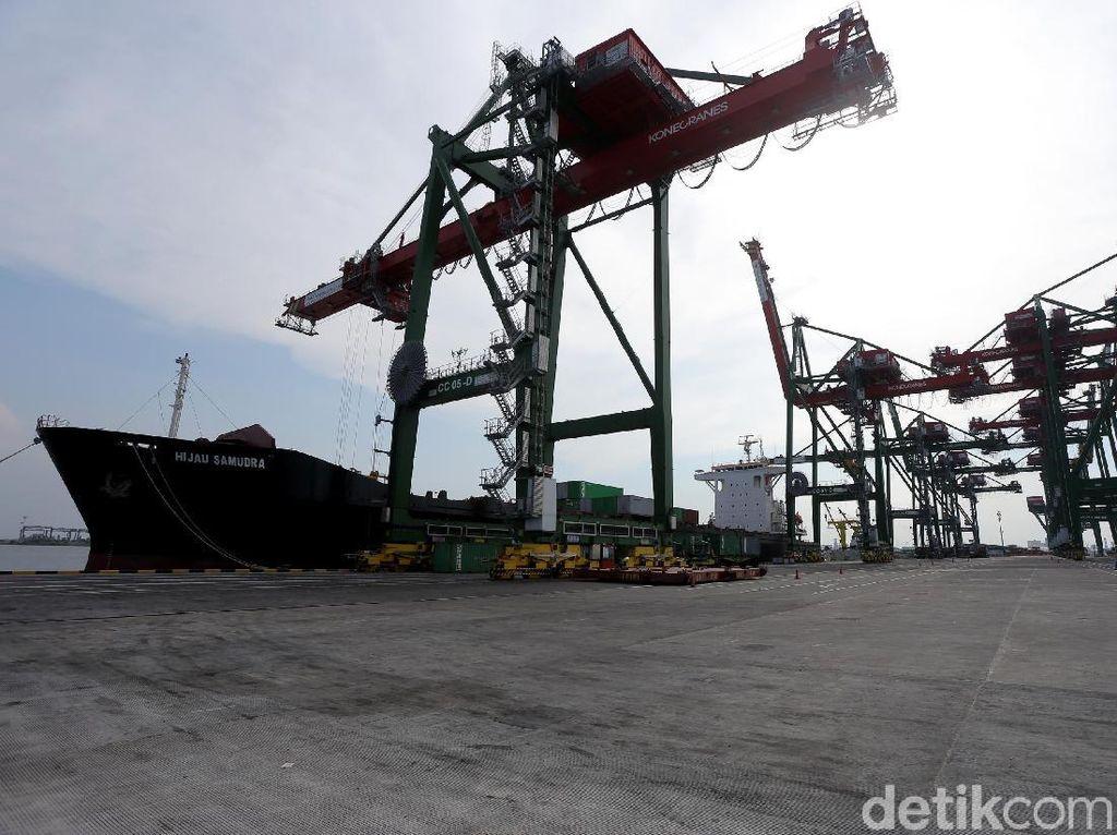 Begini Canggihnya Terminal Teluk Lamong di Surabaya