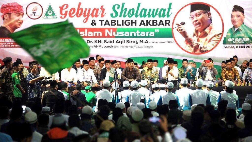 Ribuan Orang Ikuti Gebyar Solawat Islam Nusantara