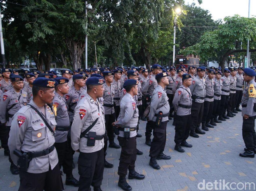 Polda Jatim Kirim 400 Personel Brimob ke Jakarta Amankan Aksi 115