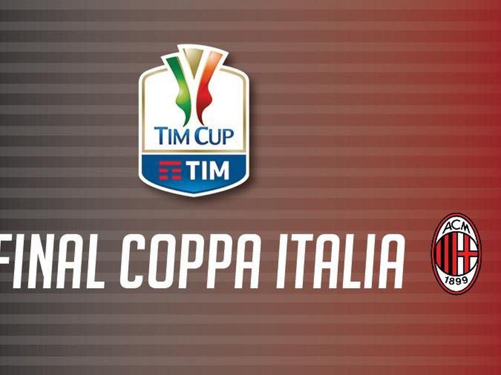 Berebut Trofi Coppa Italia di Ibukota
