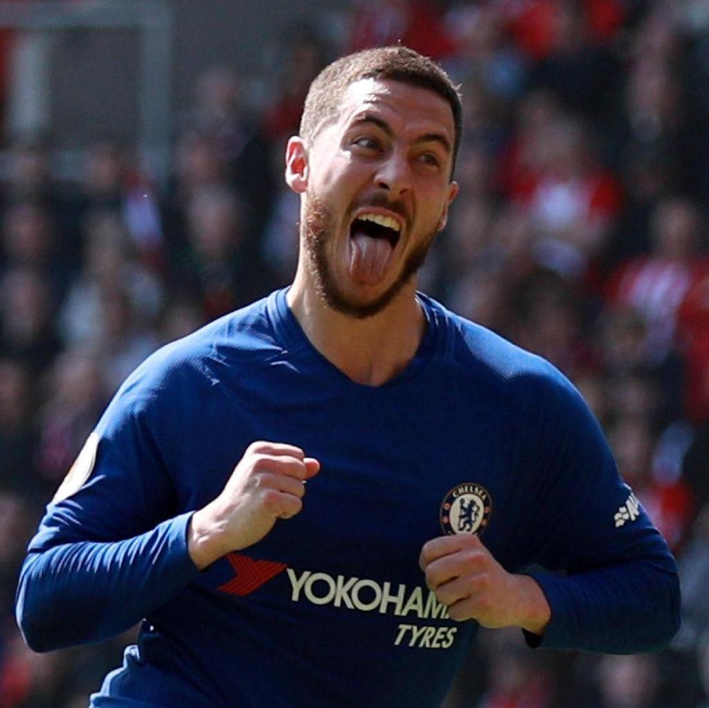 Redakan Spekulasi, Hazard: Aku Bahagia di Chelsea