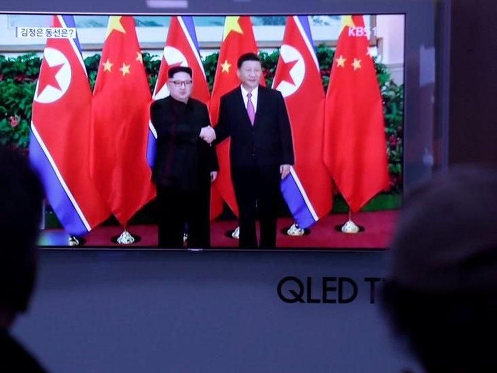 Foto: Lagi, Kim Jong Un Temui Xi Jinping di China