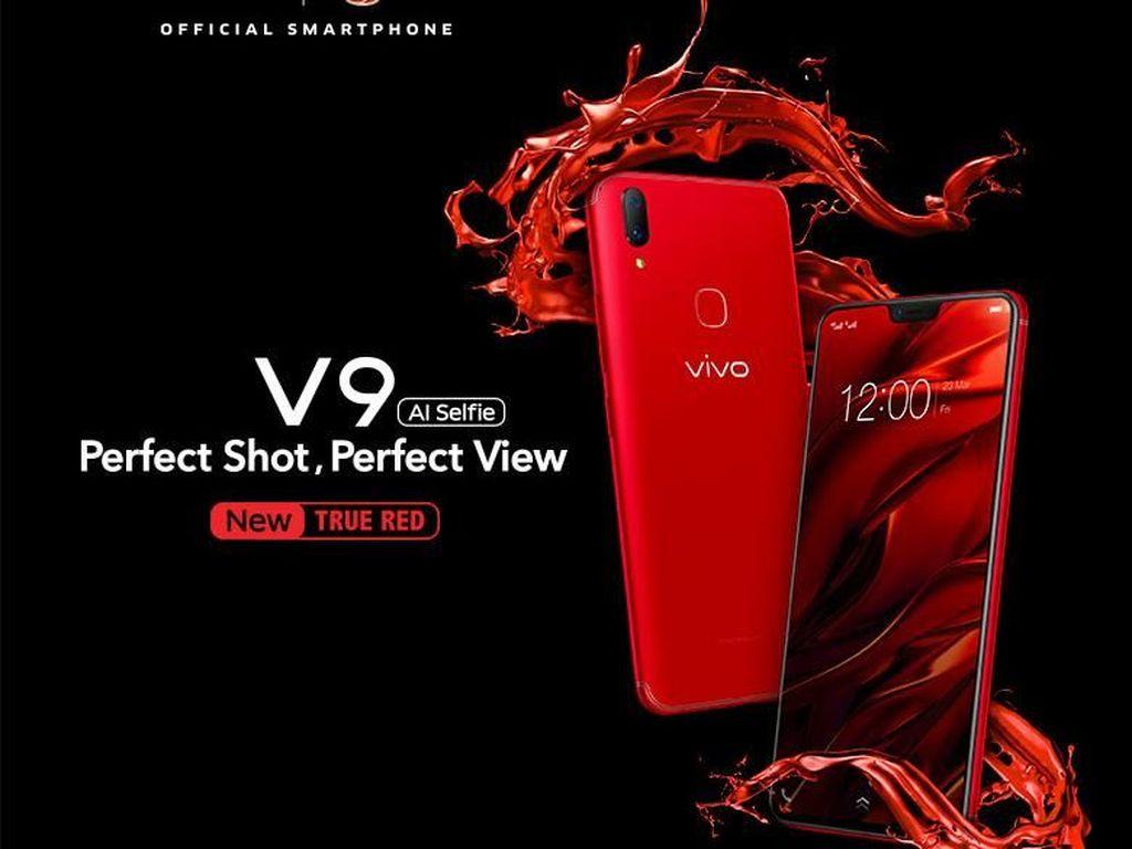 Smartphone Stylish Ini Makin Berani dengan Warna Merah