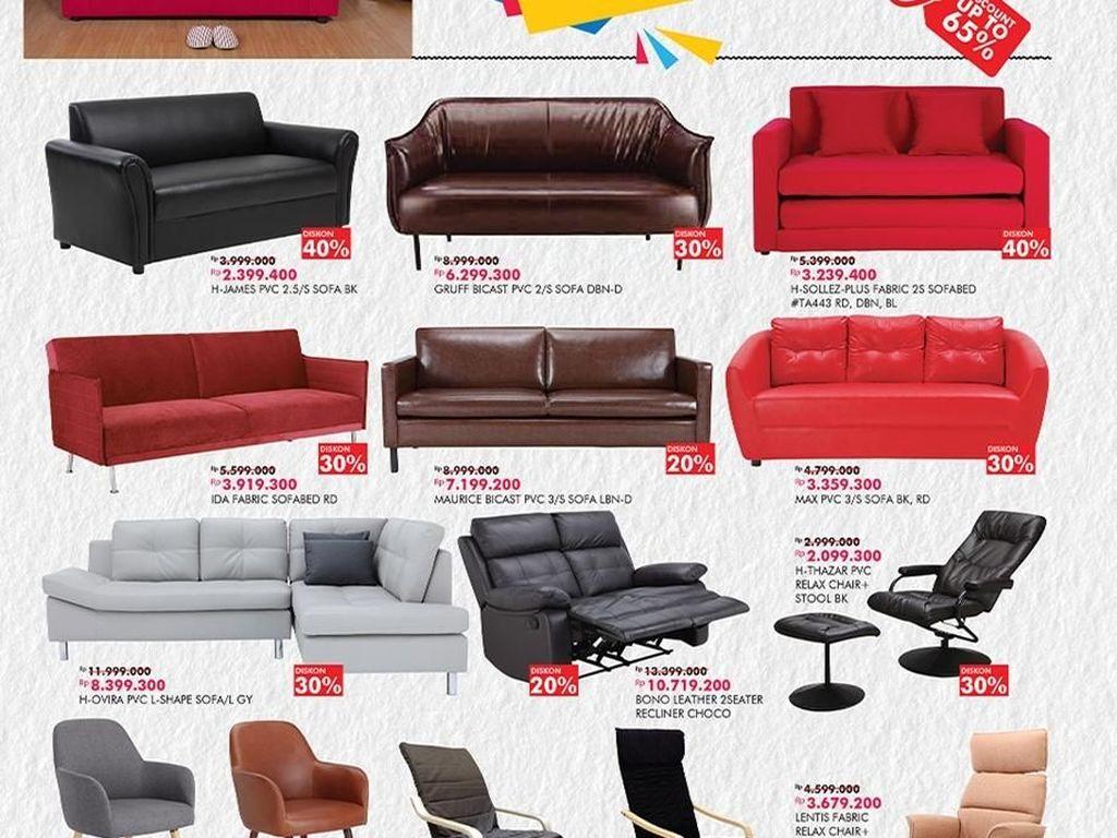 Libur Panjang, Ada Diskon Furniture Hingga 65% di Transmart Carrefour